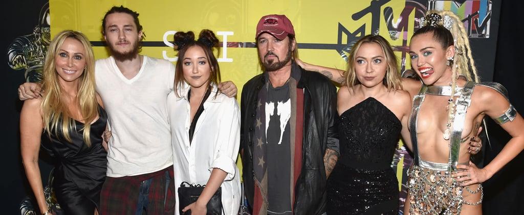 Cyrus Family Reaction to Nicki Minaj Calling Out Miley VMAs