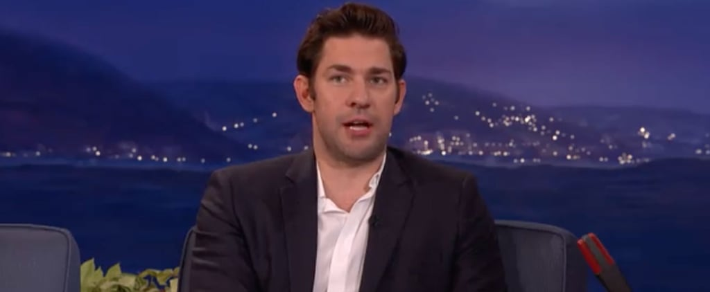 John Krasinski Talks About Matt Damon Kissing Emily Blunt