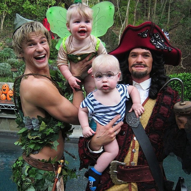 neil patrick harris family halloween costumes popsugar celebrity - Halloween And Costumes