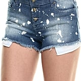 Lee Cooper Frayed Bleached Denim Shorts ($53)