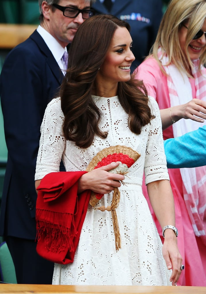 Kate Middleton at Wimbledon in 2014