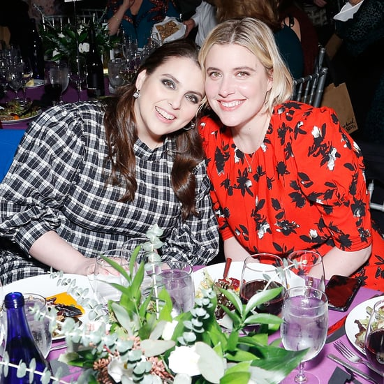 Beanie Feldstein and Greta Gerwig Reunite at Film Festival