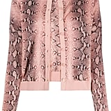 Twin-Set Snakeskin-Print Cardigan