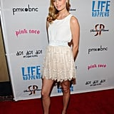 Ricki Noel Lander at the premiere of Life Happens.