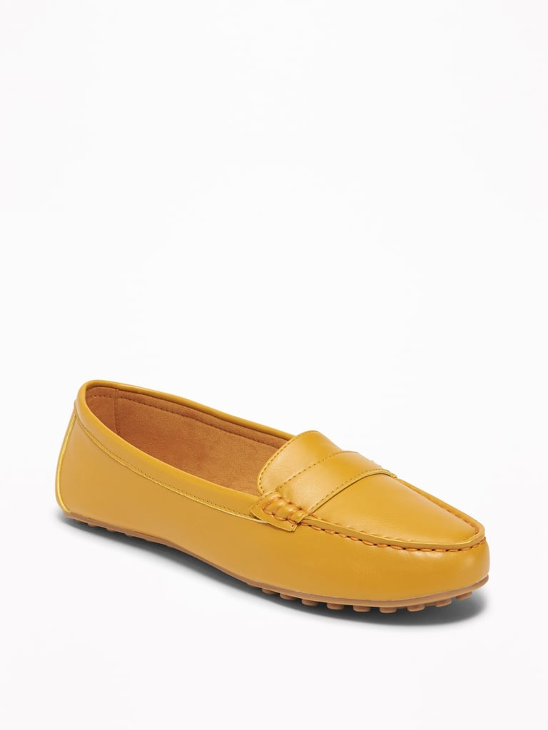 Old Navy Faux-Leather Driving Moccasins