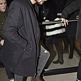 Gigi Hadid and Zayn Malik Out in NYC January 2016