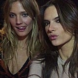 Constance Jablonski and Alessandra Ambrosio Followed Suit