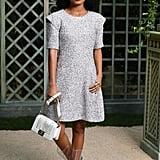 Yara Shahidi Sat Front Row in Chanel PVC Boots