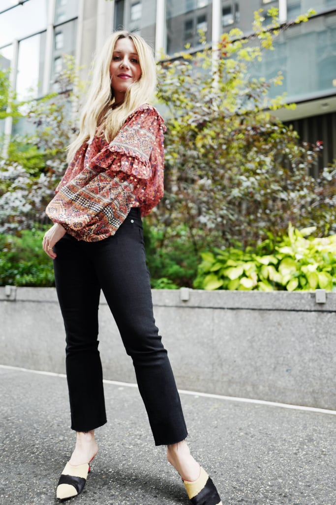 Easy Outfits: A Stylish Jeans-and-Top Outfit to Wear to Work, Dinner, and Beyond
