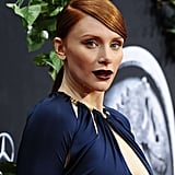 Bryce Dallas Howard With a Deep Side Part