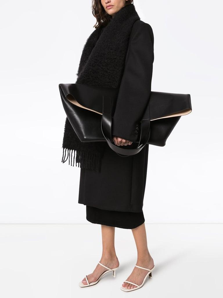 Studio Amelia Oversized Leather Tote Bag