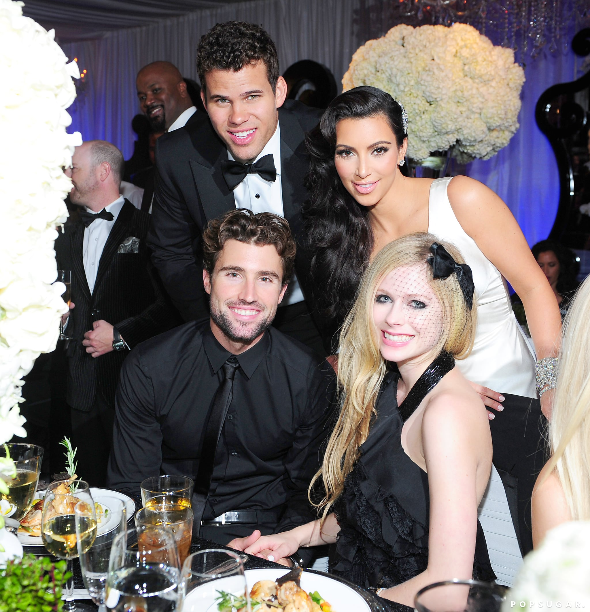 Brody Jenner brought then-girlfriend Avril Lavigne as his date.
