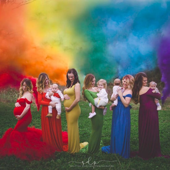 Moms Gathered For a Rainbow Baby Photo Tribute