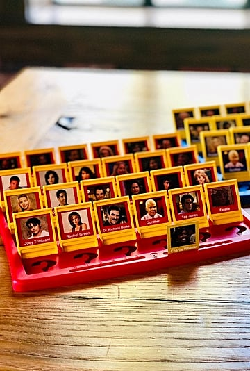 There's a Friends-Themed Guess Who? Board Game on Etsy