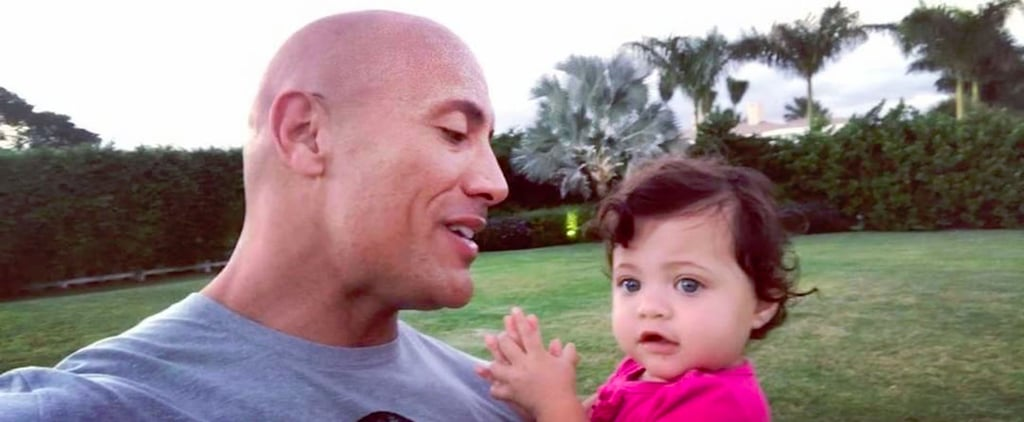 Dwayne Johnson Is Cute, but His Baby Girl Jasmine Is Even Cuter