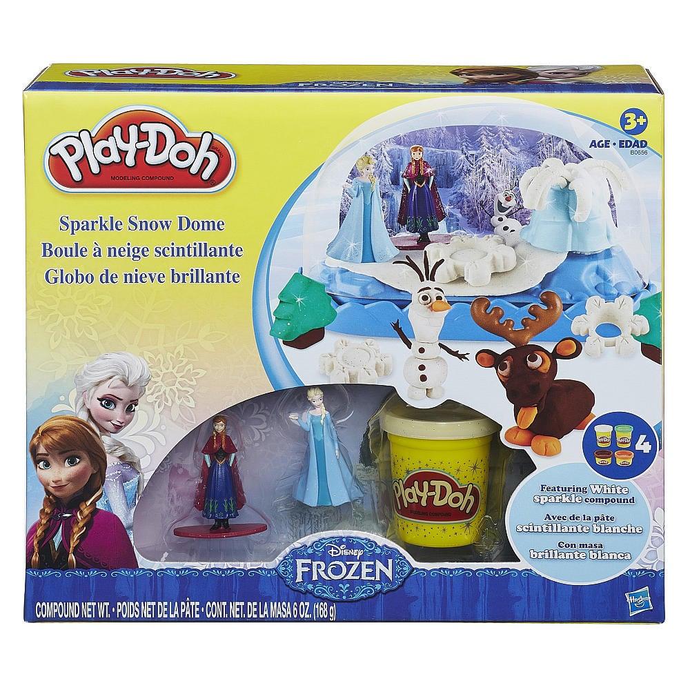 Play-Doh Frozen Sparkle Snow Dome