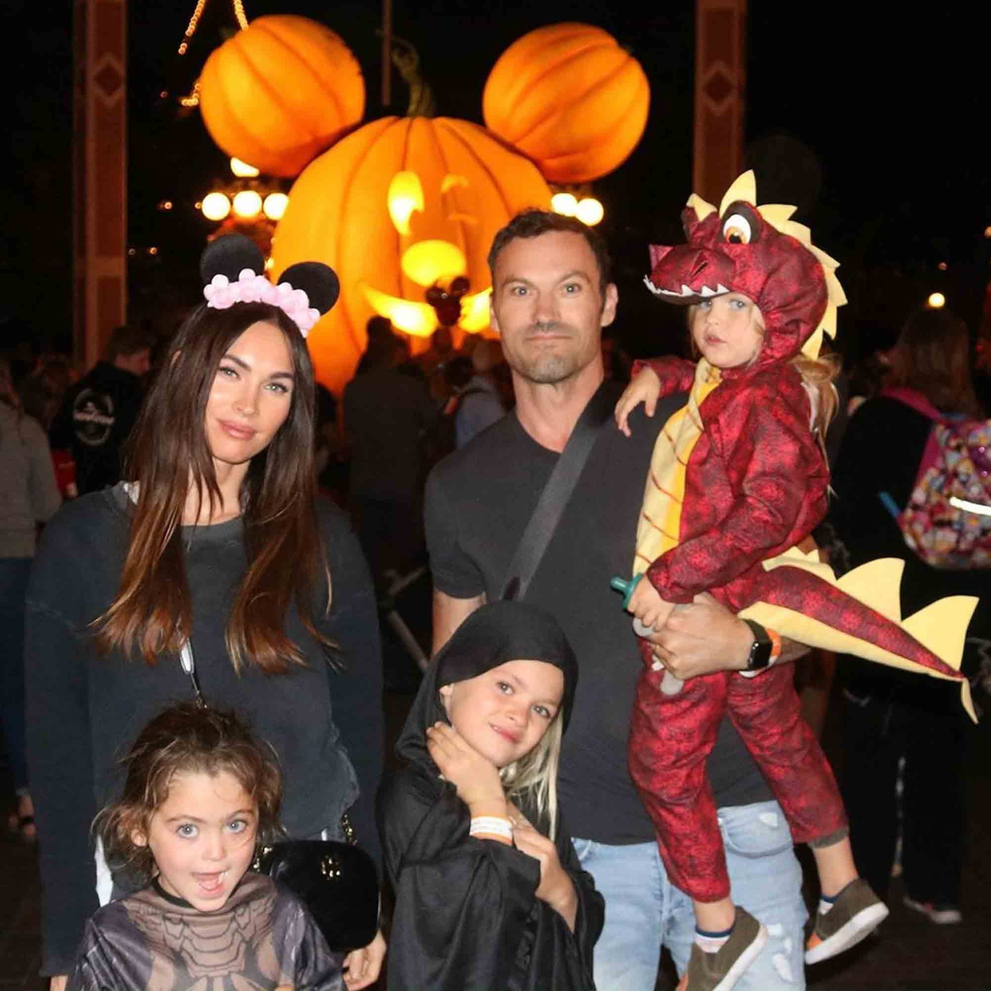 How Many Kids Do Megan Fox And Brian Austin Green Have Popsugar Family Bodhi ransom green's source of wealth comes from being a family member. how many kids do megan fox and brian