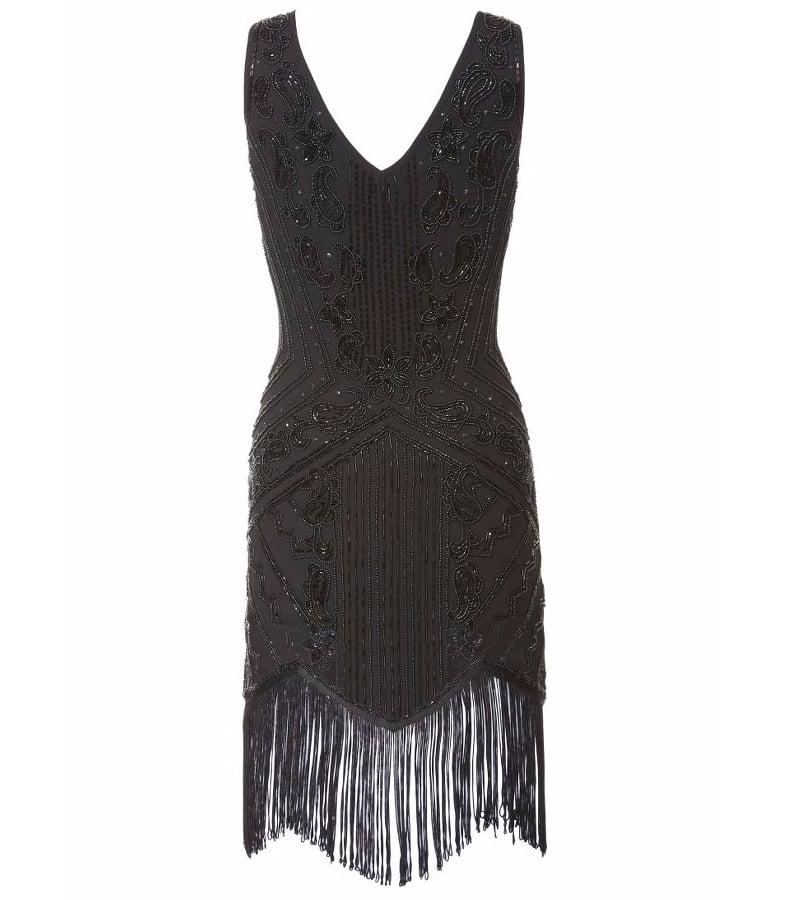 Kaleidoscope Beaded Flapper Dress (£99)