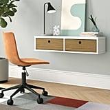 Hayward Solid Wood Floating Desk