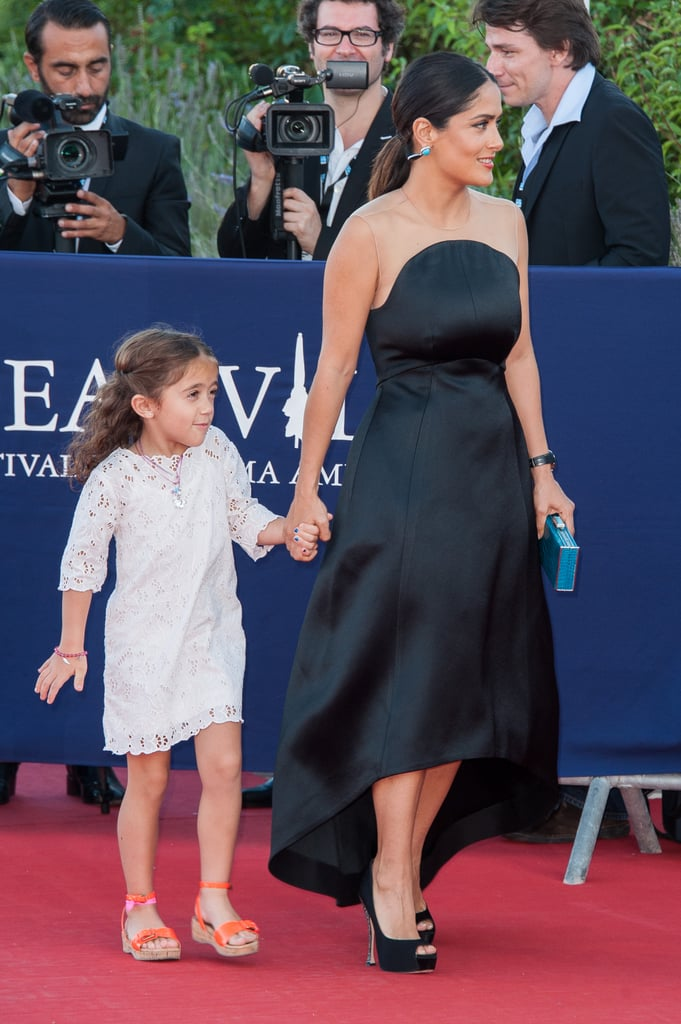 Salma Hayek and her daughter, Valentina Pinault, attended the Deauville American Film Festival.