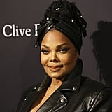 Janet Jackson at Clive Davis's 2020 Pre-Grammy Gala in LA