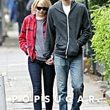 Emma Stone and Andrew Garfield walked and shared a laugh together in New York City.