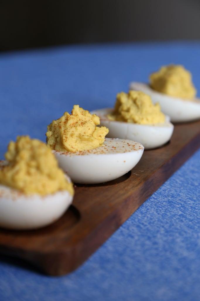 Honey Mustard Deviled Eggs