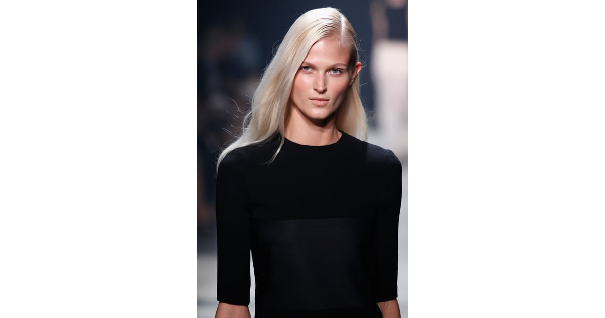 Narciso Rodriguez Spring 2014 Narciso Rodriguez Shows A Diluted Beauty Look For Spring 2014