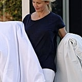 Cameron Diaz shopped in California.