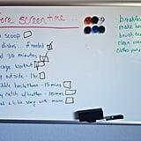 Whiteboard List