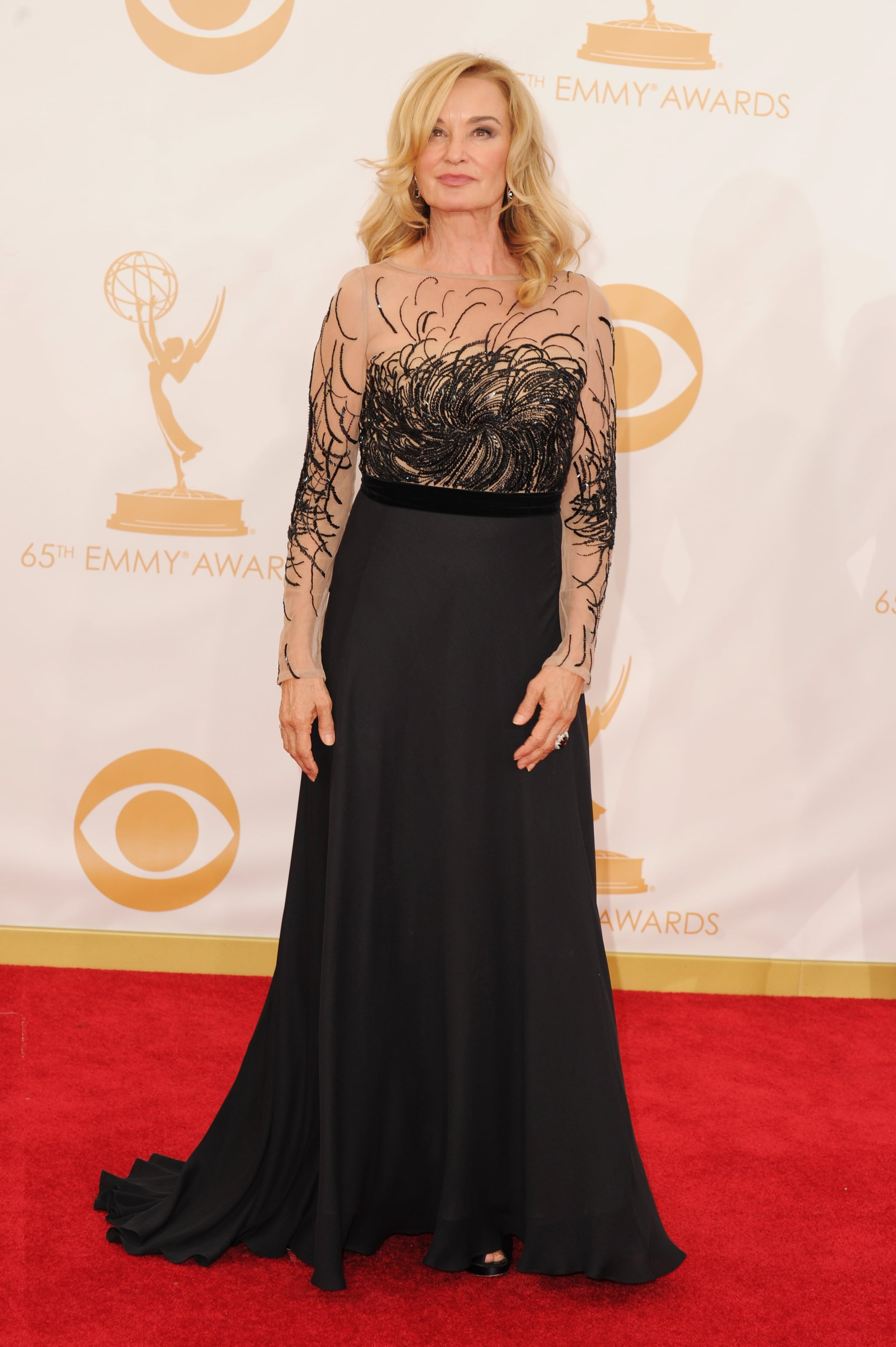 Jessica Lange attended the Emmys.