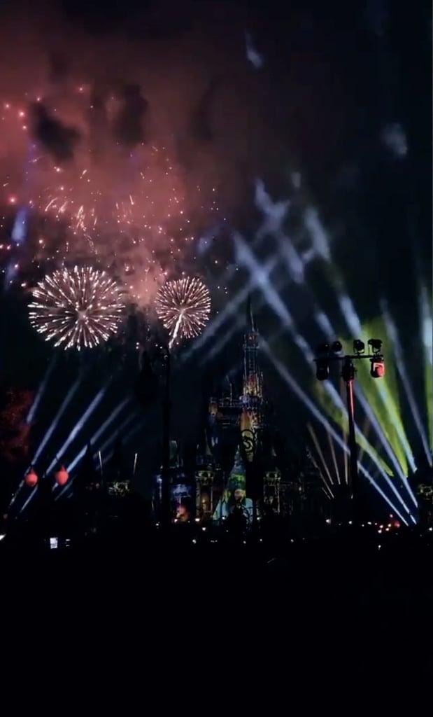Kylie Jenner Sees Fireworks at Walt Disney World