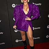 Bebe Rexha at the 2019 Spotify Best New Artist Party