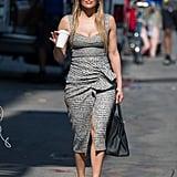Jennifer in Christian Louboutin, June 2018