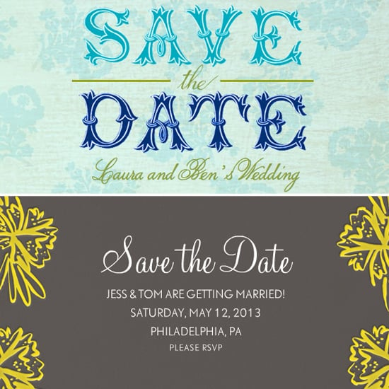 wedding save the date ecards popsugar tech