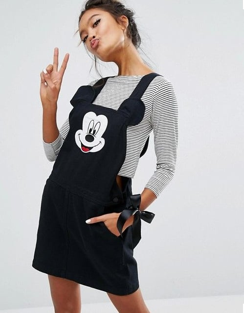 Lazy Oaf X Disney Mickey Mouse Pinafore ($128)