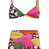 Dodo Bar Or Rachelle Floral-Print Triangle Bikini Top ($103) Dodo Bar Or Rachelle Floral-Print High-Rise Bikini Briefs ($120)