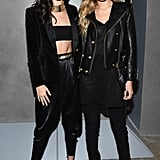 As if we needed another excuse to buy the new Balmain x H&M collection, Kendall and Gigi wore matching outfits.