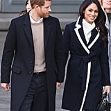 Meghan Markle Wearing Belts