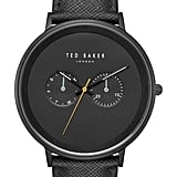 Ted Baker London Brad Multifunction Leather Strap 42mm Watch