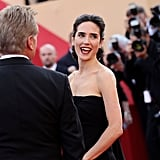 Jennifer Connelly walked the red carpet for the screening of Once Upon a Time in America.