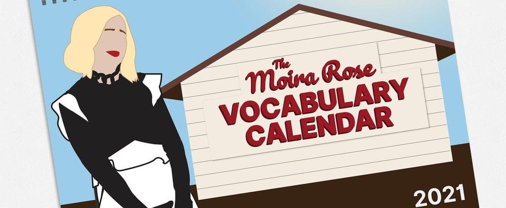 This Moira Rose Vocabulary Calendar Explains Her Funny Lingo