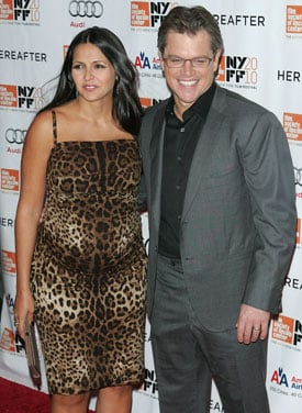 Matt Damon and Luciana Welcome Baby Stella Zavala!