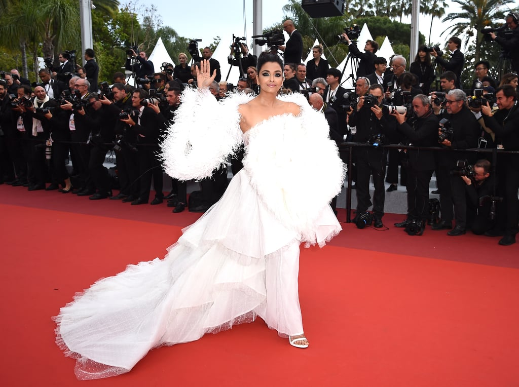 Aishwarya Rai Bachchan's White Dress at Cannes 2019