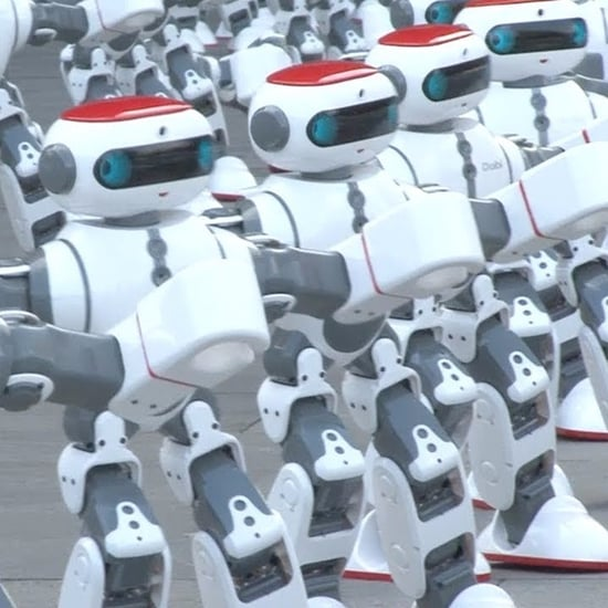 Dancing Robots Break Guinness World Record