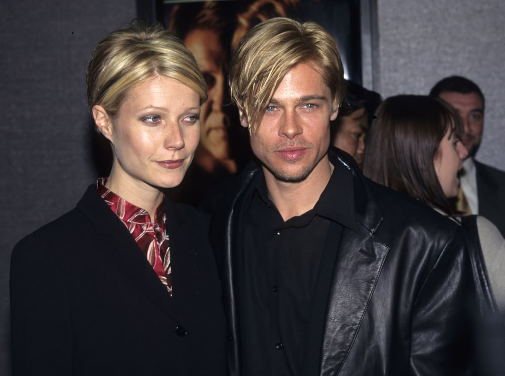 brad pitt and gwyneth paltrow celebrity couples in