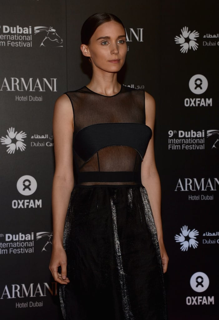 Rooney, Freida, and Kristin Party With Colin Firth in Dubai
