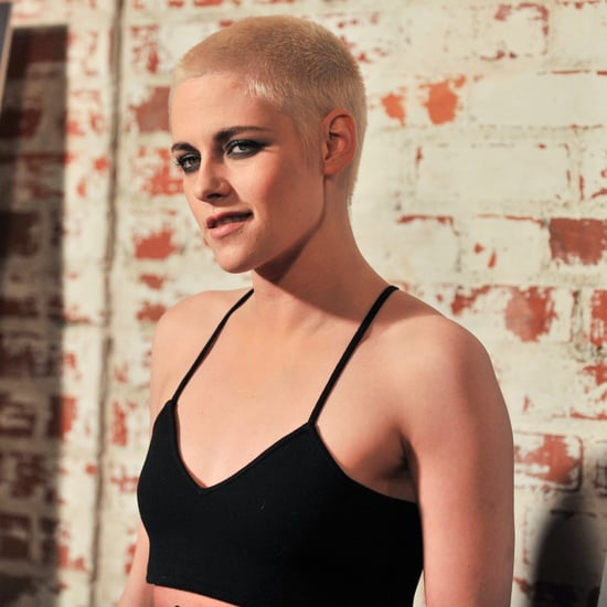 Kristen Stewart Forgetting About Her Haircut on Red Carpet