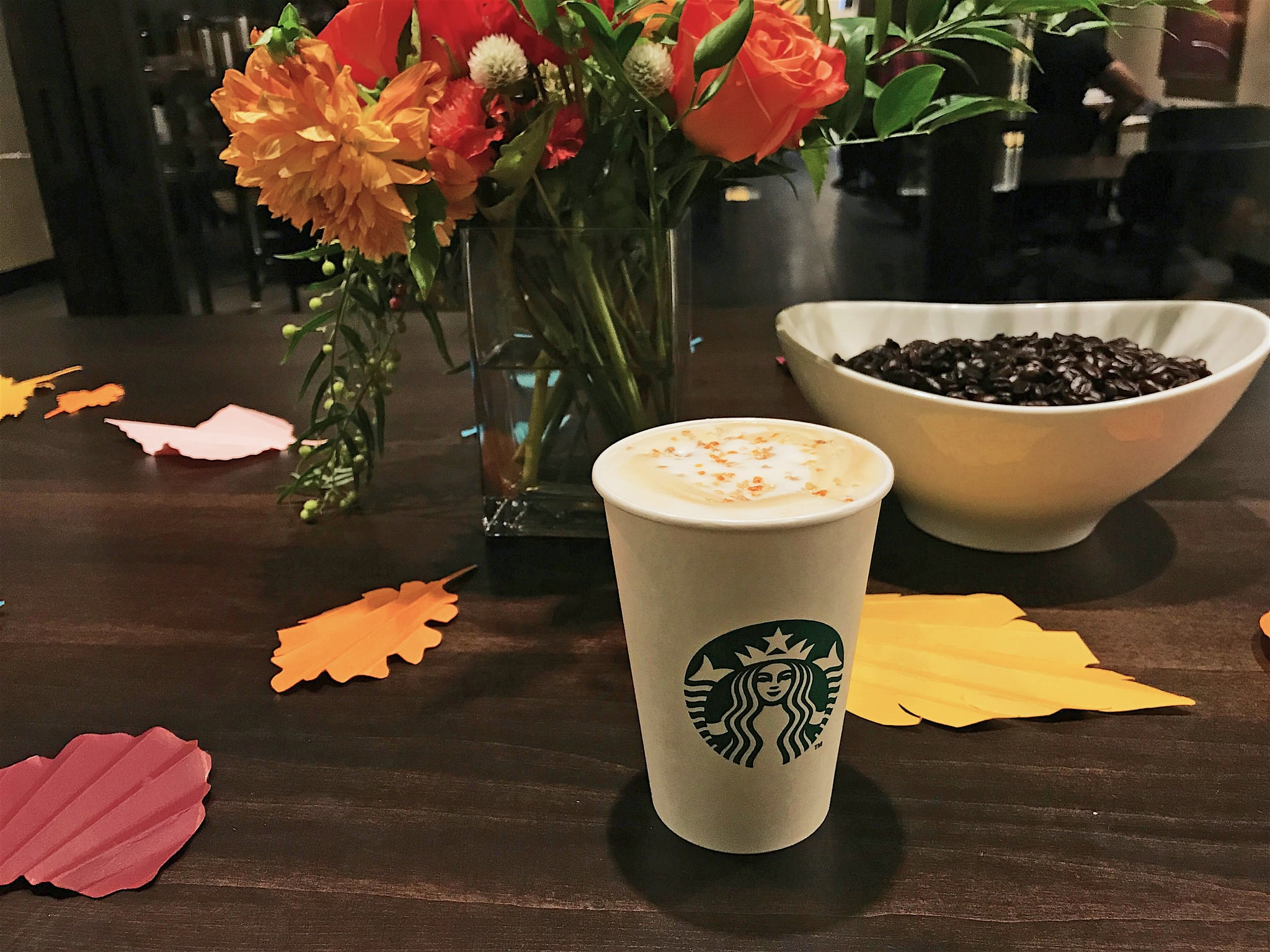 Starbucks Reveals Brand-New Maple Pecan Latte