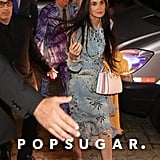 Exes Demi Moore and Ashton Kutcher Narrowly Avoid Each Other at a Star-Studded Wedding